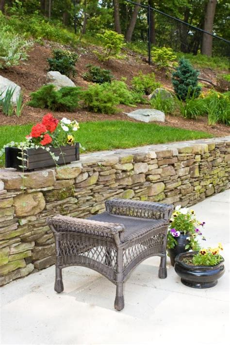 garden retaining wall options steps retaining walls builders westchester ny