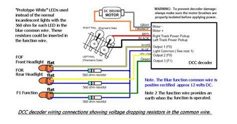 dcc decoder wiring diagram efcaviation