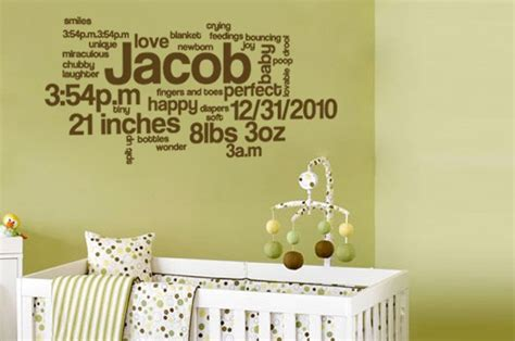 wall stickers baby boy three wall decals for a baby boy or a toddler bedroom