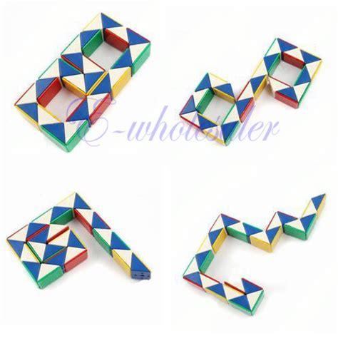 pattern for rubik s triangle triangle snake rubik rubic rubix magic cube toy gift kids
