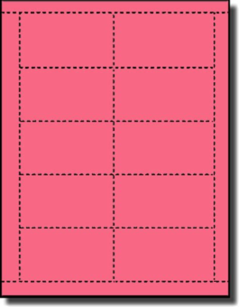 avery 5371 business card template 200 pulsar pink laser and inkjet printable both sides