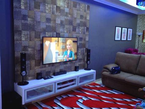warna ruang tamu rumah teres desainrumahidcom