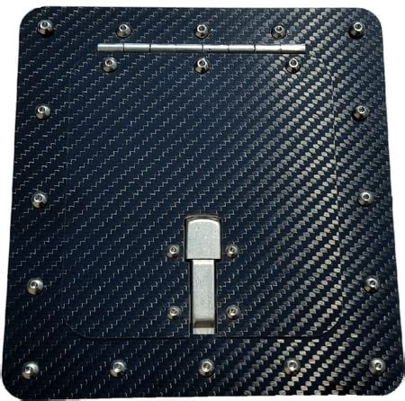 access door kit carbon fiber