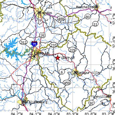kentucky map corbin gray kentucky ky population data races housing