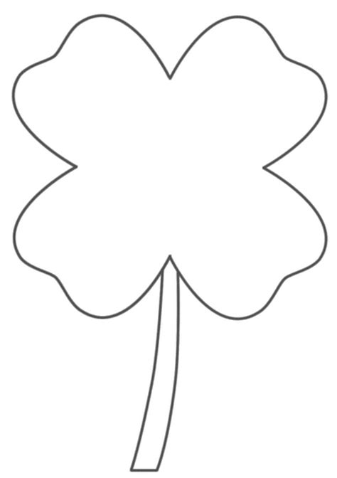 4 H Clover Coloring Pages by 4 H Clover Coloring Pages