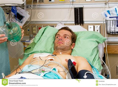 patient in emergency room ill patient in emergency room royalty free stock photo image 33460565