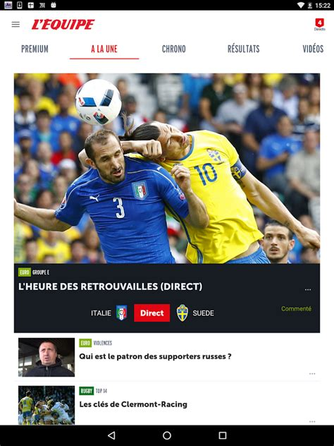 L'Equipe : Foot, Rugby,Tennis - Android Apps on Google Play L Equipe Tennis