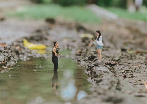 Wedding Miniature by This Wedding Photographer Turns You Into A Miniature Person