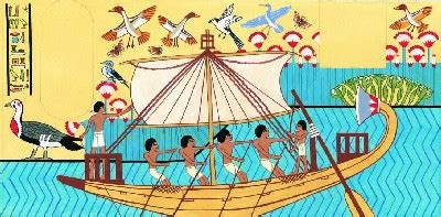 ancient egypt boats and transportation types of ancient egypt transportation pictures to pin on