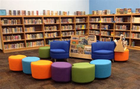 comfy library chairs library makeovers sunnyside unified school district