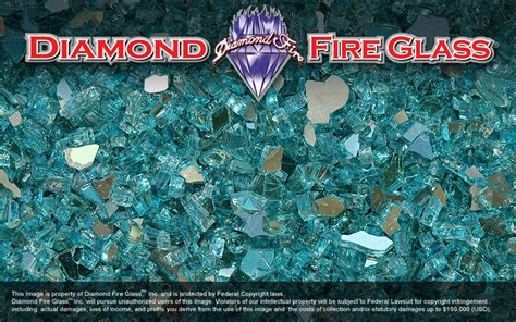 reflective pit glass turquoise reflective pit glass crystals