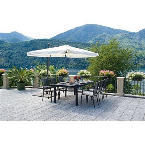 ombrellone per giardino ombrellone giardino decentrato rettangolare3x2mt san marco