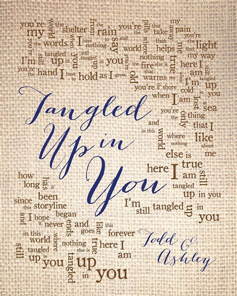 Wedding Song Up by Wedding Song Lyric Tangled Up In You By By