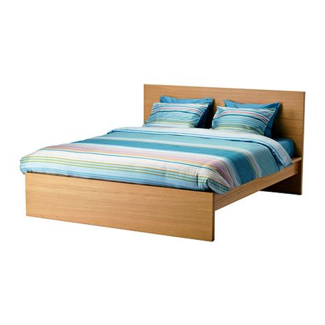 double bed headboard ikea malm bed frame high oak veneer lur 246 y standard double ikea