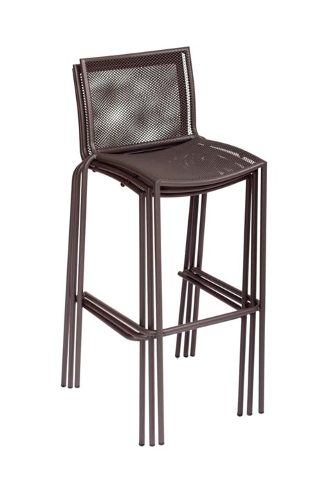 Stackable Bar Stool by Abri Outdoor Restaurant Bar Stool Stackable Barstools