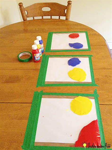 cara membuat cat painting sendiri cara membuat mainan anak edukatif sendiri dengan barang bekas
