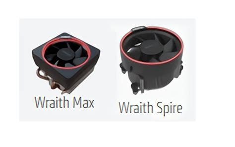 Fan Processor Wraith Max amd ryzen 7 wraith max and spire coolers revealed eteknix
