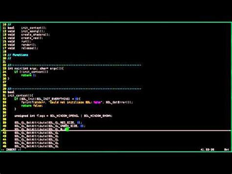 tutorial opengl linux opengl 3 tutorial for linux and windows part 1 youtube