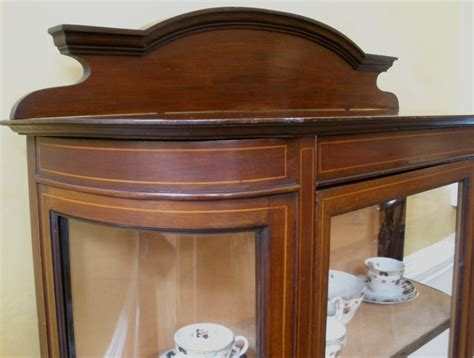 antique curio cabinets for sale antique english edwardian mahogany inlaid china display