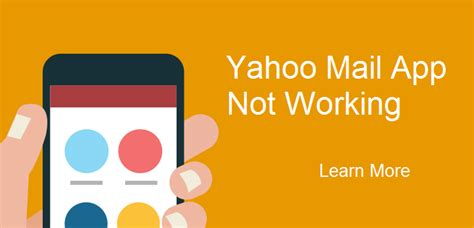 Yahoo Email Search Not Working Yahoo Mail App Not Working Easy Steps To Fix Yahoo Mail Issue
