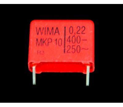 Wima Mkp10 22uf 400v wima mkp10 0 22uf 400v polypropylene metallized
