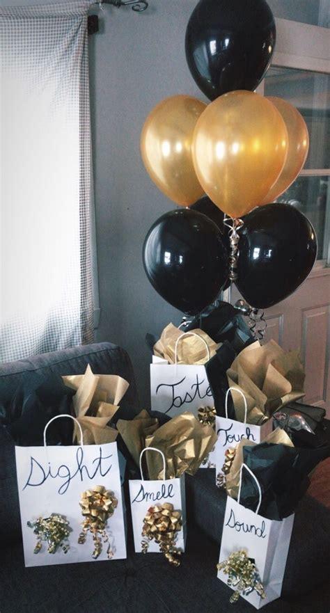 senses gift   boyfriends birthday birthday