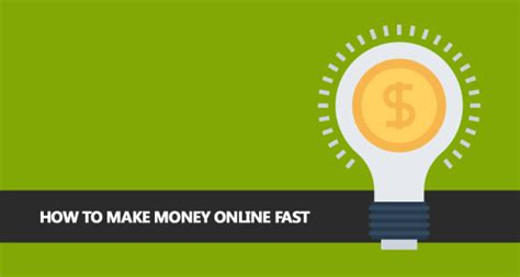 How To Make Money Fast And Free Online - how to make money online fast