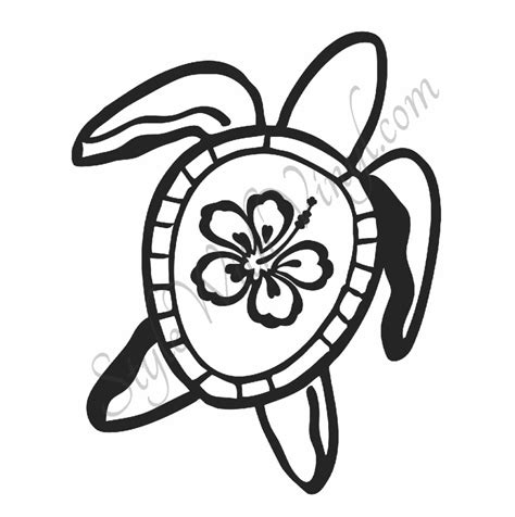 realistic hawaiian flowers coloring coloring pages