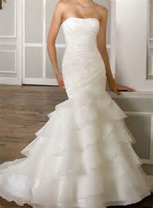 wedding dress up organza mermaid ivory white wedding dress