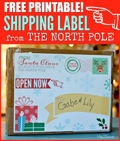 Free Printable Shipping Labels