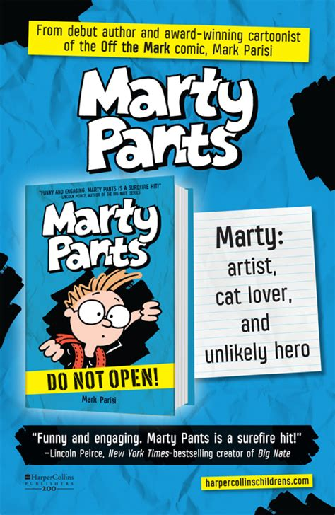 martypants a new chapter book series by award winning