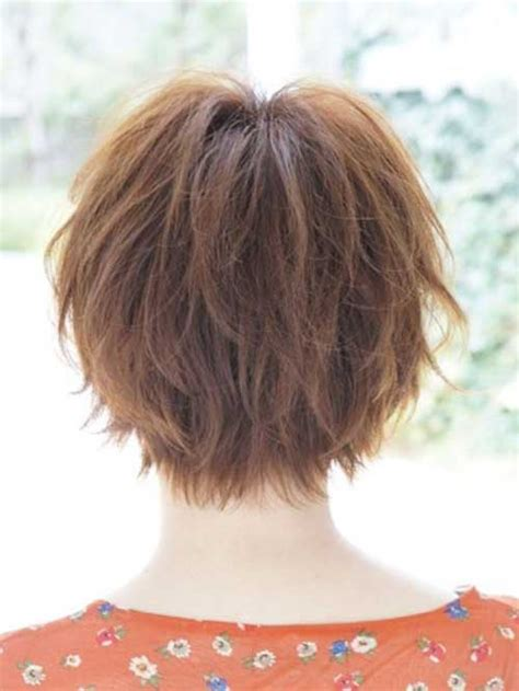 back and side view of short layered hairstyles 20 back view of pixie haircuts pixie cut 2015