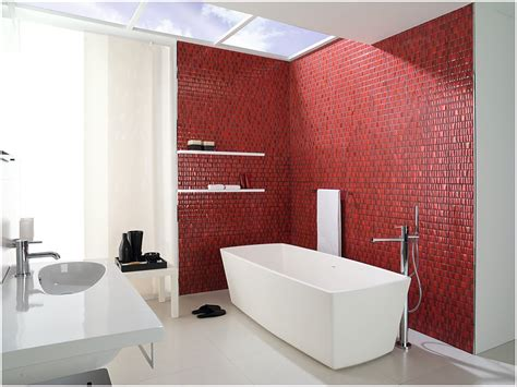 red wall bathroom top decor tips for 2015