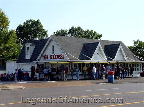 Ted Drewes Gift Cards - legends of america photo prints missouri route 66 st louis mo ted drewes