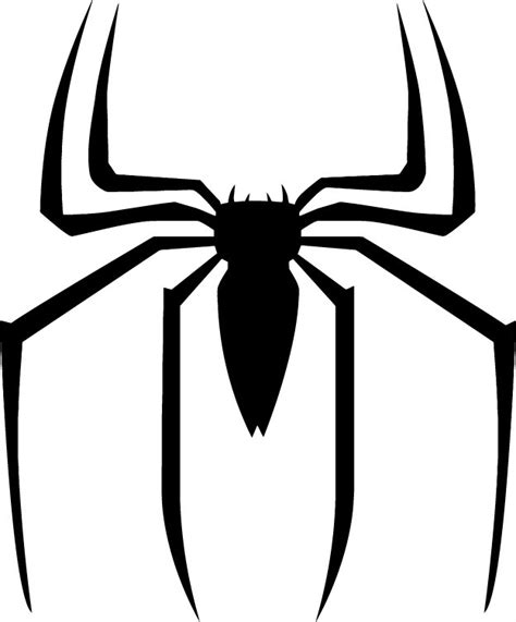 spiderman symbol coloring page free coloring pages of spiderman emblem