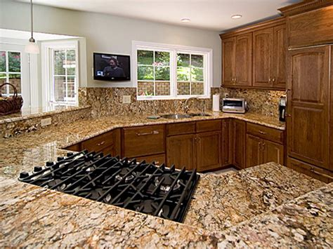 bloombety types of countertops for kitchen with the
