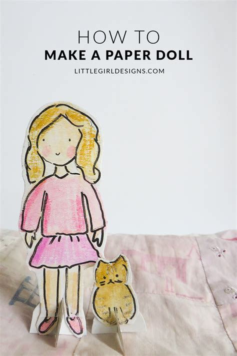 Make A Paper Doll - how to make a paper doll jennie moraitis