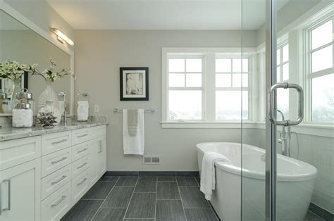 Grey Bathroom Floor Tiles by Floor Tile Bathroom Farmhouse With Gray Floor Tile