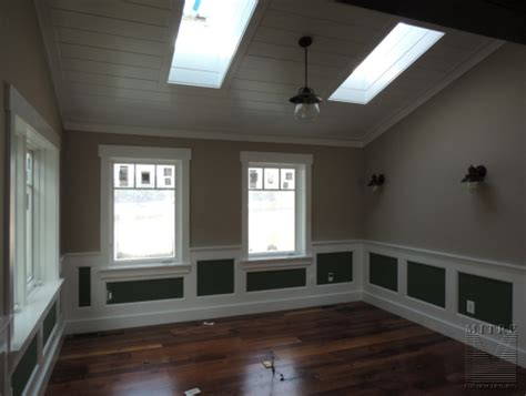 Wainscoting Ceiling by Mitre Contracting Inc Wainscoting