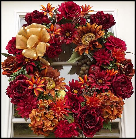 decorative fall wreaths 14 best images about fall decor ideas on