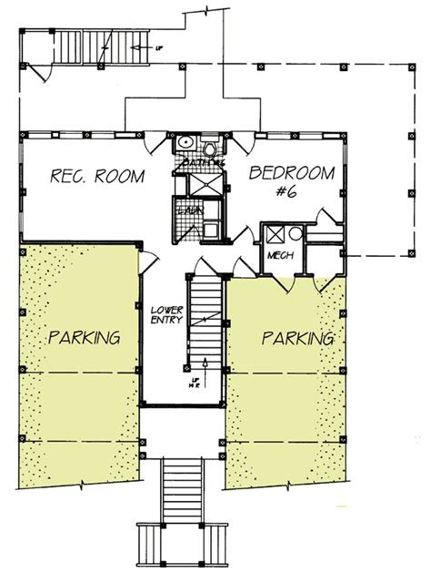 13064fl 1st Floor Master Suite Beach Cad Available Narrow Lot House Plans With Drive Garage