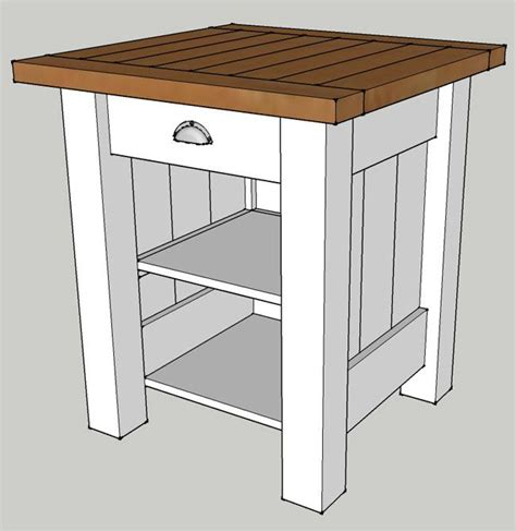 wooden nightstand plans woodworking projects plans