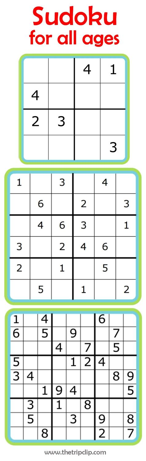 printable sudoku for preschoolers 25 best ideas about printable puzzles for kids on