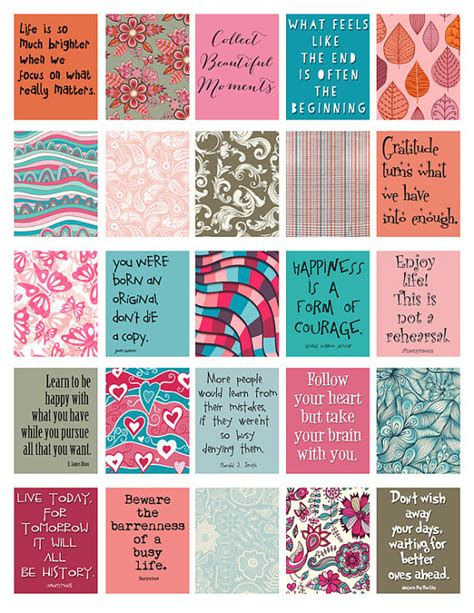 printable stickers quotes quotes to live by stickers for life planner printable digital