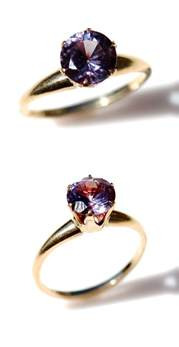 color changing alexandrite ring alexandrite ring rings and colors on