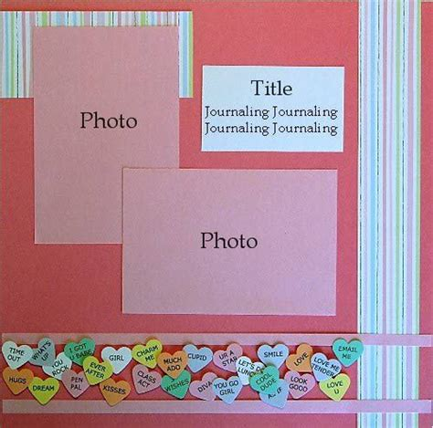 scrapbook layout designs free 132 best images about sb layouts valentines on pinterest