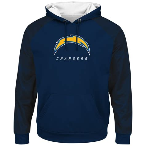 San Diego Chargers Size S san diego chargers majestic nfl quot armor 2 quot s pullover