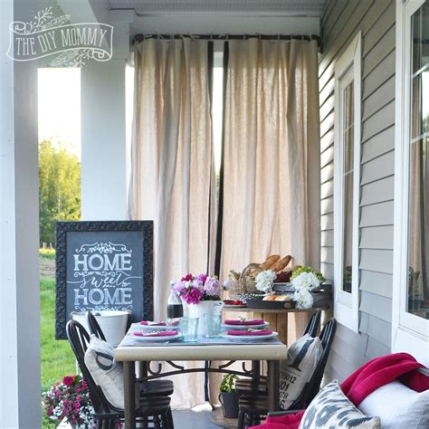 diy patio curtains diy outdoor curtains cabana patio makeover with diy drop