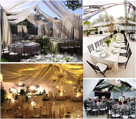 backyard tent wedding reception backyard wedding decorations