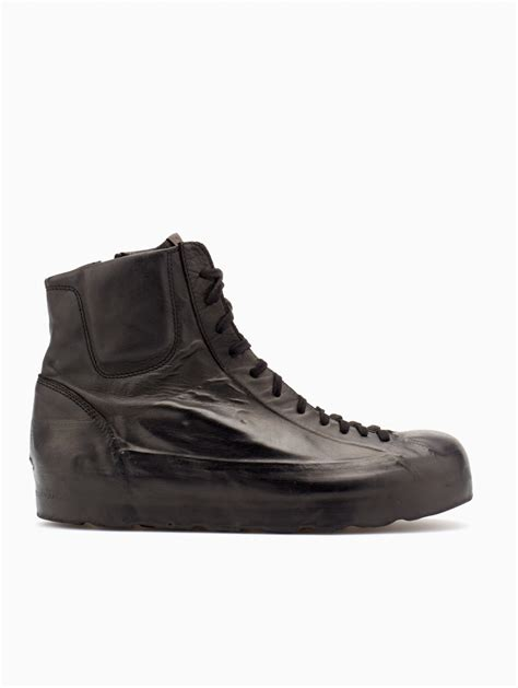 oxs sneakers oxs rubber soul leather sneakers in gray for lyst